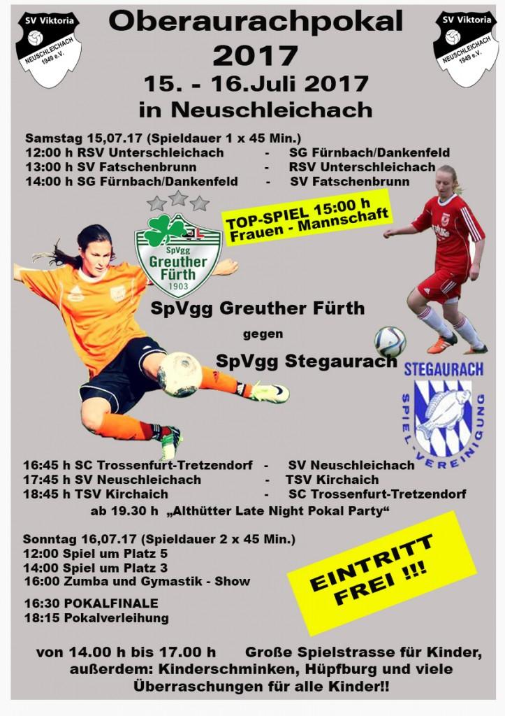 Oberaurachpokal - Neuschleichach 15.-16.07.2017